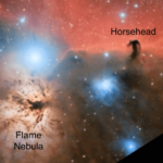 The anatomy of the Orion Jedi revealed by radio-astronomy