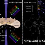 Noyaux actifs de galaxie et astrométrie