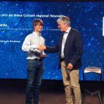 Prix de thèse NOVAQ 2018 reçu par Lars Bonne, jeudi 13 Septembre.